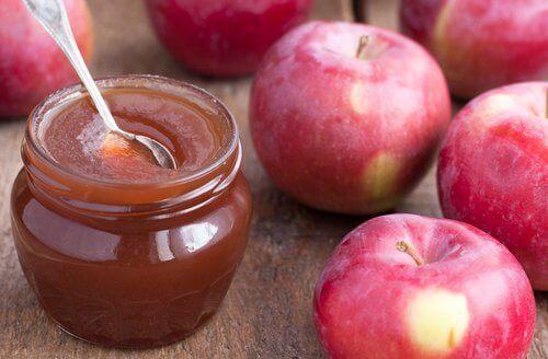 Οι ωφέλειες ενός μήλου την ημέρα - Μαρμελάδα μήλου και κόκκινα μήλα