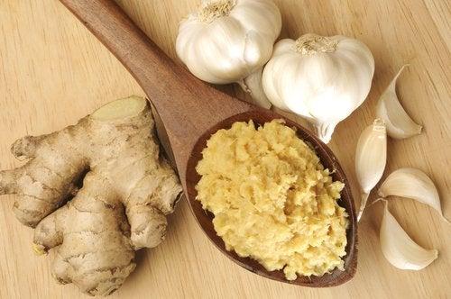Τζίντζερ, σκόρδο και μέλι για 8 κοινές ασθένειες.