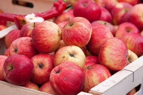 αντιοξειδωτικά φρούτα- μήλα