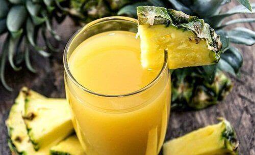 Διατροφικά οφέλη του ανανά - Χυμός ανανά