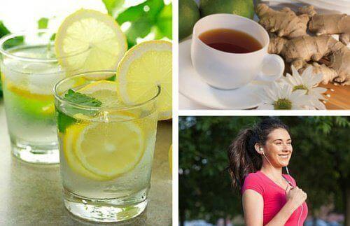 Υγιεινή και εύκολη πρωινή ρουτίνα αδυνατίσματος