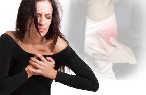 Τα συμπτώματα του εμφράγματος στις γυναίκες
