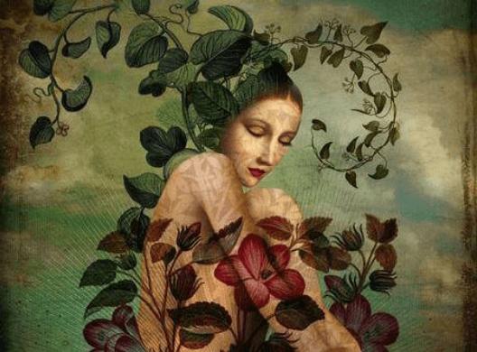 Συναισθηματική ωριμότητα - Γυναίκα και λουλούδια