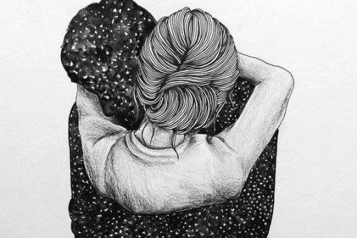 Αγκαλιάστε σφιχτά για να συνθλίψτε την αβεβαιότητα που νιώθετε