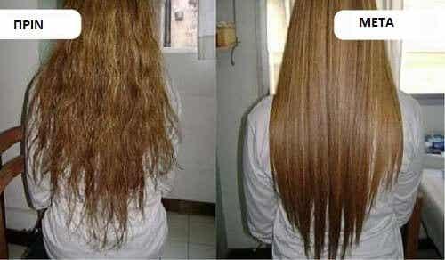 Ανακαλύψτε πώς να ισιώσετε φυσικά τα μαλλιά σας