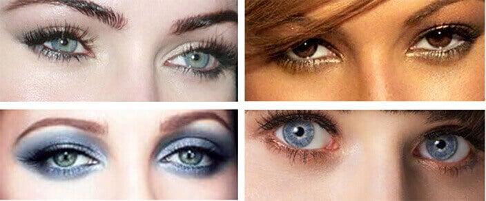 Εκφραστική εμφάνιση - Διάφορα μακιγιάζ για τα μάτια