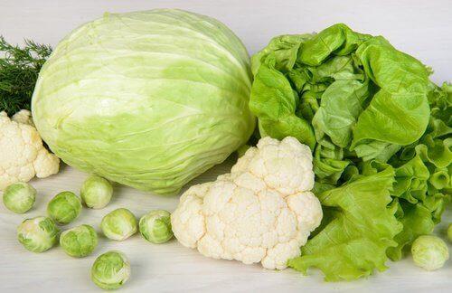 Τροφές που καθαρίζουν το συκώτι - Πράσινα φυλλώδη λαχανικά