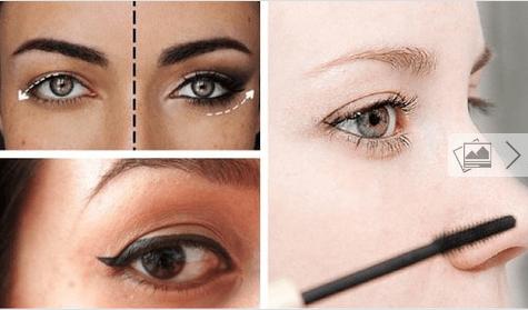 8 κόλπα μακιγιάζ για πεσμένα βλέφαρα