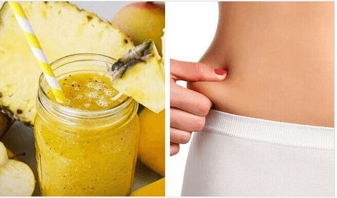Smoothie αδυνατίσματος με ανανά και σέλινο: πολύ γευστικό!
