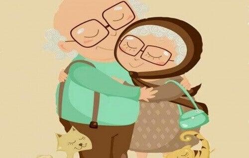 Η αληθινή αγάπη χρόνια και ρυτίδες δεν κοιτά
