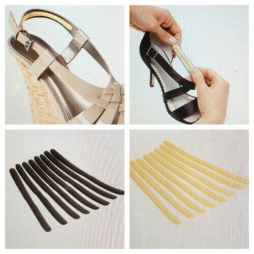 μαξιλαρακια για να μην χτυπούν τα παπούτσια