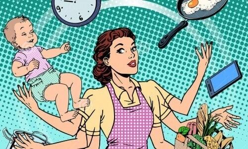 Ένας σύζυγος συνεπάγεται 7 ώρες δουλειάς παραπάνω για μια γυναίκα
