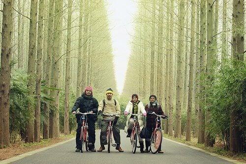 ένας σύζυγος συνεπάγεται 7 ώρες δουλειάς για μια γυναίκα, ποδήλατα