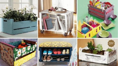 Ξύλινα καφάσια: 20 εκπληκτικές νέες χρήσεις τους στο σπίτι
