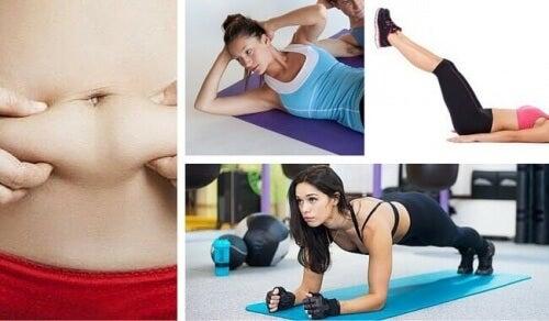 7 εύκολες ασκήσεις για να κάψετε το κοιλιακό λίπος