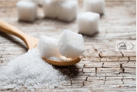 σώμα κλεψύδρα και ζάχαρη