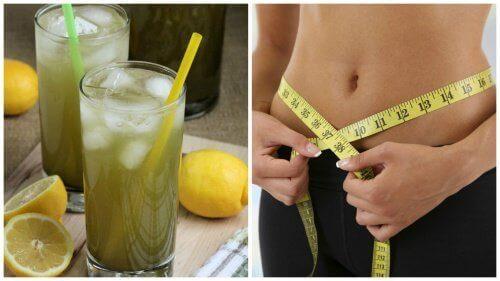 Φτιάξτε λεμονάδα με πράσινο τσάι για αδυνάτισμα