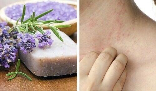 Ειδικό σαπούνι για το ευαίσθητο δέρμα και τη δερματίτιδα