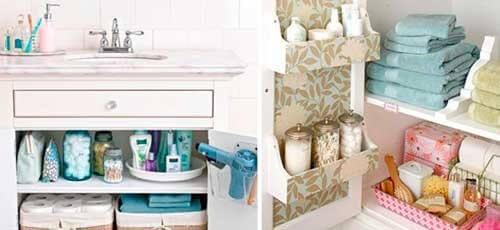 13 κόλπα για καθαρό και τακτοποιημένο μπάνιο