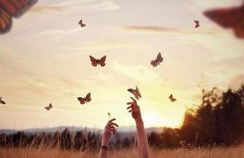 να ζείτε με πεταλούδες