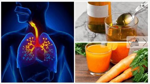 Φυσική θεραπεία για το βήχα με καρότο