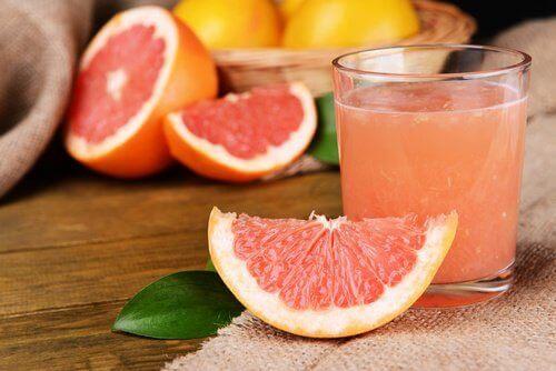 ωφέλιμα φρούτα - γκρέιπφρουτ
