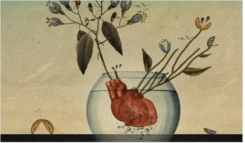 Εκφράζετε καθημερινά την αγάπη σας - Καρδιά σε γυάλα