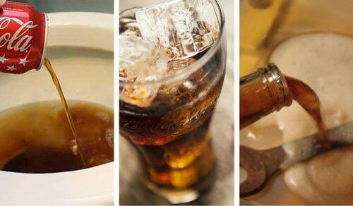 8 πρακτικές χρήσεις της Κόκα-Κόλα για το σπίτι
