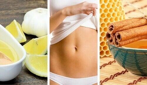5 φυσικές συνταγές για πιο επίπεδο στομάχι
