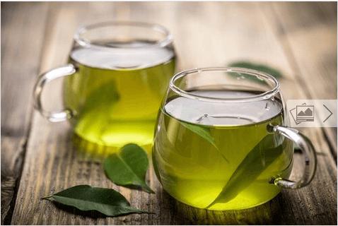 πρασινο τσάι υλικά για υγιή μαλλιά