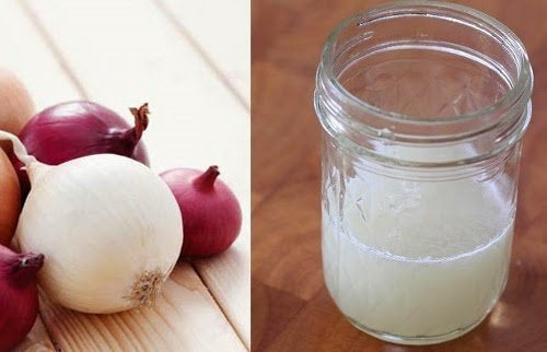 πιο πυκνά φρύδια με χυμό κρεμμυδιού