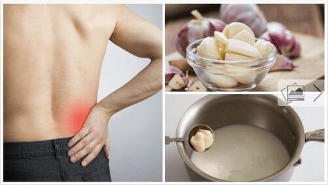 Γάλα με σκόρδο για την αντιμετώπιση της ισχιαλγίας