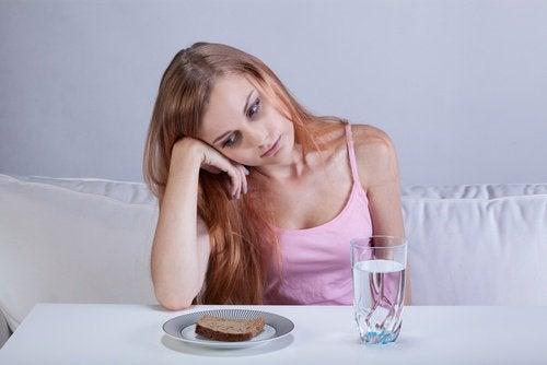 Επιδράσεις της λύπης - Γυναίκα χωρίς όρεξη
