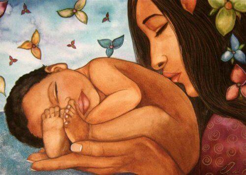 Ημέρα της Οικογένειας, μητέρα και μωρό