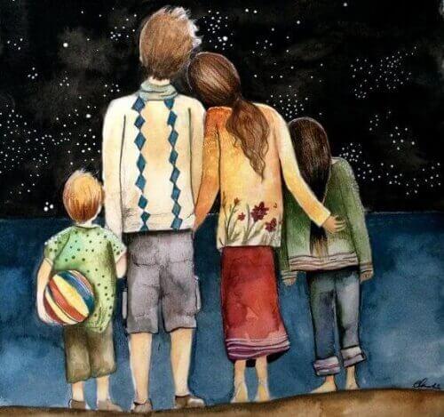 χαρούμενη οικογένεια