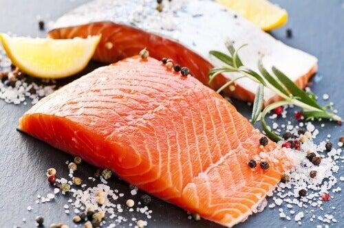 τροφές που μειώνουν το άγχος, σολομός