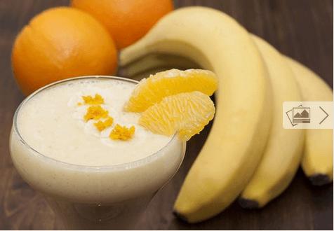 Smoothies μπανάνας για αδυνάτισμα