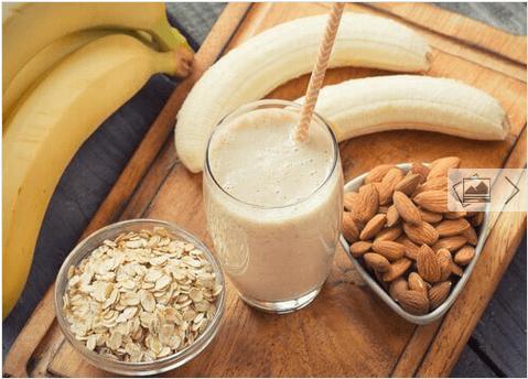 Smoothies μπανάνας για αδυνάτισμα, κατά της κατακράτησης