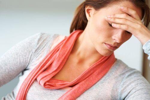 Υπερβολικά πολλή ζάχαρη - Γυναίκα με εξάντληση