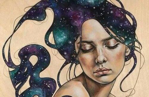Σύνδρομο της Γουέντι - Γυναίκα με άστρα στα μαλλιά