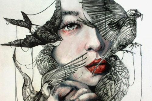 Αν έχετε μαγεία - Γυναίκα και πουλιά