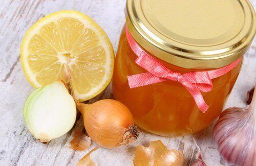 κρεμμύδι και μέλι