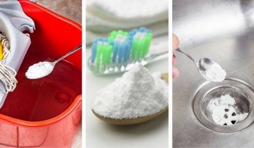 6 εξαιρετικοί τρόποι να χρησιμοποιήσετε τη μαγειρική σόδα