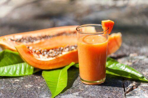 smoothie papagia