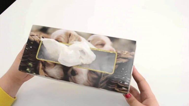 τακτοποίηση σακούλων σε κουτί