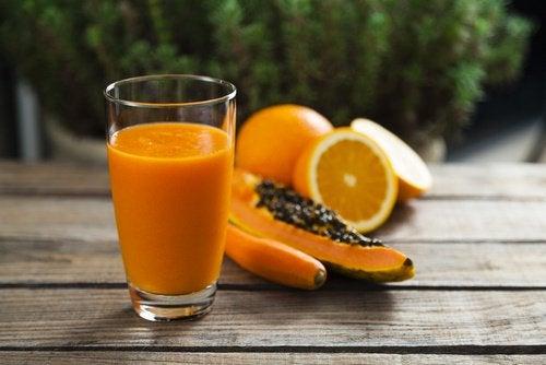 παπάγια και πορτοκάλι για την ρευματοειδή αρθρίτιδα