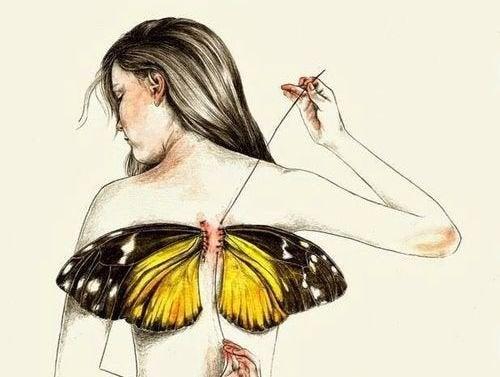 Γεννιόμαστε όλοι με τα δικά μας φτερά, αλλά η ζωή τα παίρνει μακριά