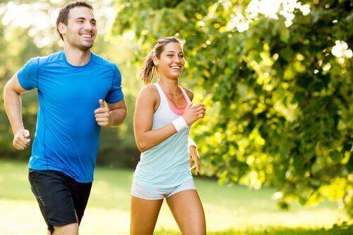 τρέξιμο, άσκηση