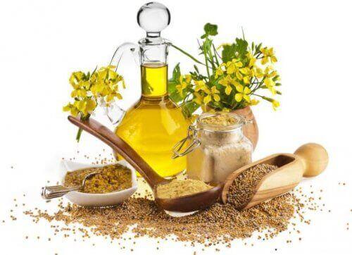 Λάδι από σπόρους μουστάρδας, φυσικές θεραπείες για να αφαιρέσετε το κερί των αυτιών