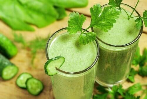 Πράσινα ποτά - κατακράτηση νερού